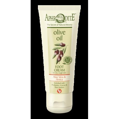 aphrodite olive oil foot cream